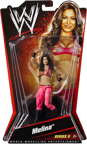 WWE Wrestling Series 5 Melina Action Figure, Age 6+