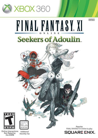 Xbox 360 Final Fantasy XI Seekers Of Adoulin Game