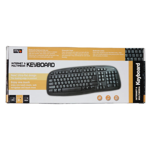 MYO Internet & Multimedia English Keyboard