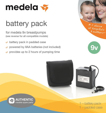 Medela Battery Pack For 9 Volt Pump In Style Advanced Breast Pumps