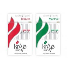 KRAVE KING - 5 Rechargeable Electronic Cigarette