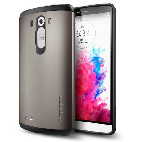 Spigen Air Cushion Slim Armor Assorted Case For LG G3