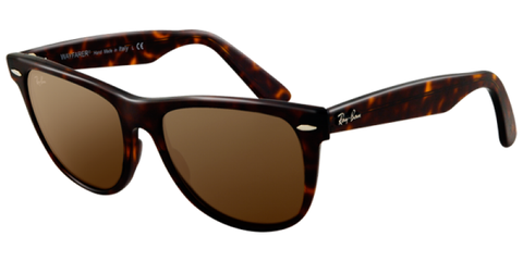 Ray Ban Men RB2140 902  Wayfarer Tortoise  Polarised Sunglass-GL
