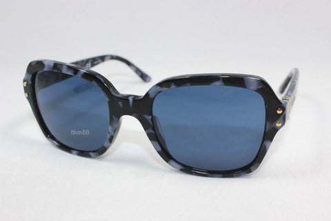Tory Burch 7082 1483/80-Women Sunglass Navy Tweed/Dark Blue Solid-GL