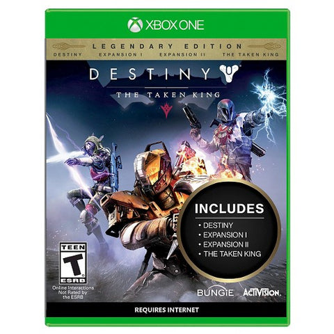 Xbox One Destiny The Taken King Game - Legendary Edition
