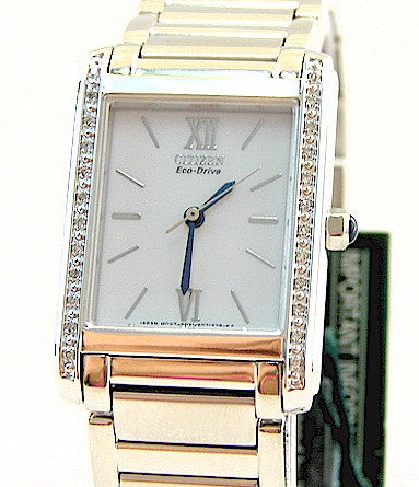Citizen Palidoro EP5730-51A-Women Eco-Drive Watch With Diamond Watch-GL
