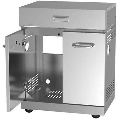 Better Homes And Gardens 4-burner Stainless Steel Gas Island Silver