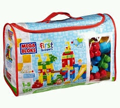 Mega Bloks First Builders Playground Deluxe Building Bag, 150 Pieces