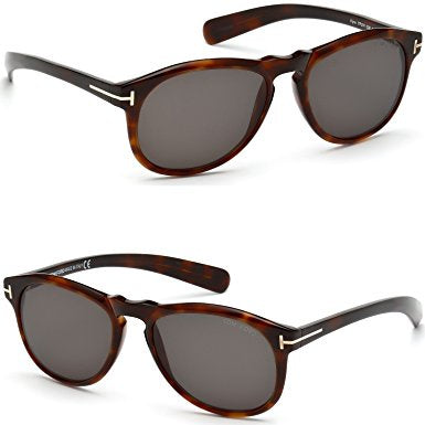 Tom ford Flynn TF291 52R-Men Sunglass Dark Havana/Green-GL