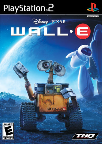 PS2 Wall E Game