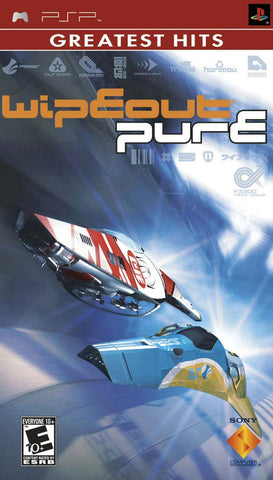 PSP Wipeout Pure - Greatest Hits Game
