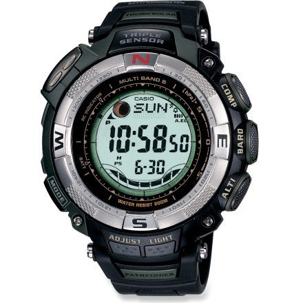 Pathfinder PAW1500 1V-Men Multi Function Digital Watch Black/Grey-GL