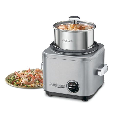 Cuisinart 4-Cup Rice Cooker & Steamer - Countertop Cooking