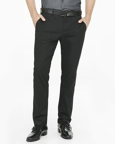 Express Men 2912 Black Dress Pants-SHG