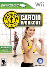 Wii Gold Gym Cardio Workout Game