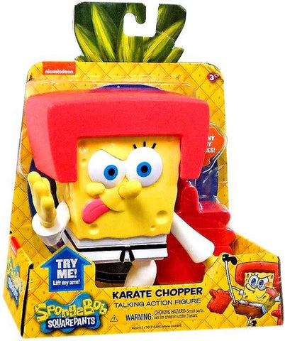Spongebob Squarepants Karate Chopper Talking Action Figure, Age 3+