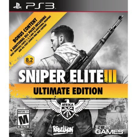 PS3 Sniper Elite III Game - Ultimate Edition