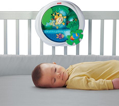 Fisher-Price Rainforest Peek-a-Boo Waterfall Soother, 0+ Months