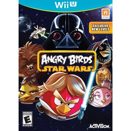 Wii U Star Wars Angry Birds Game