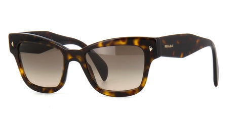 Prada SPR 29R 2AU-3D0-Women Sunglass Havana Light Brown Grey Gradient-GL