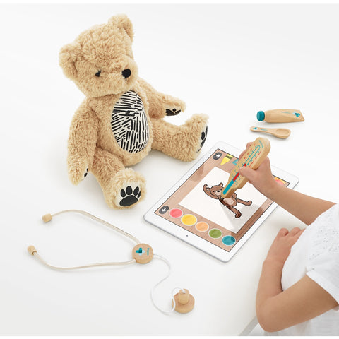 Seedling Parker Your Augmented Reality Bear for Toddlers Ages 3-6 Learning Kit