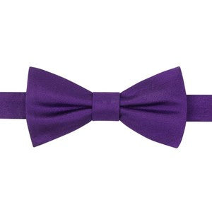Tommy Hilfiger Core Solid Bow Tie Purple-GL