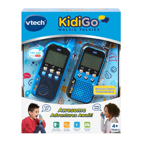 VTech KidiGo Walkie Talkies English Edition Age 4+