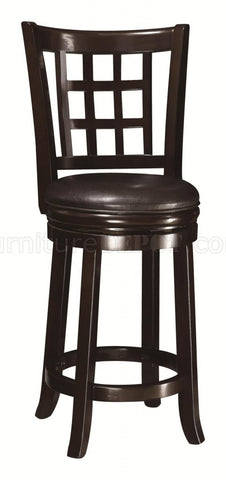 Coaster Swivel Bar Stool, Expresso