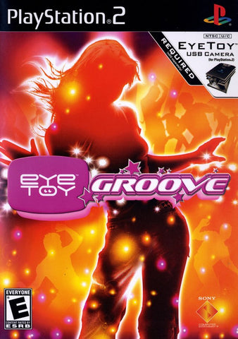 PS2 Eye Toy Groove Game