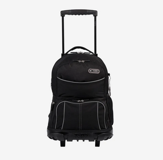 Totto Morral Rue Bomper Trolley Backpack Black-SHF