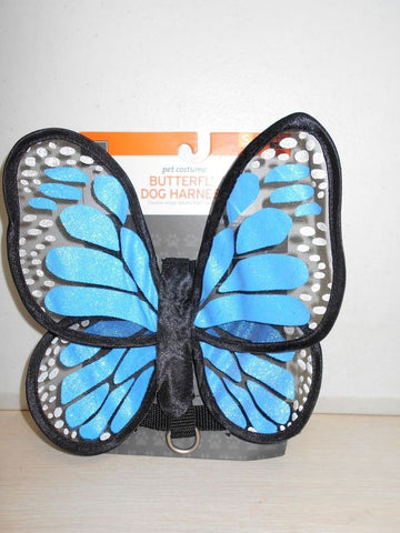 Pet Costume Blue Butterfly Wings Halloween Costume