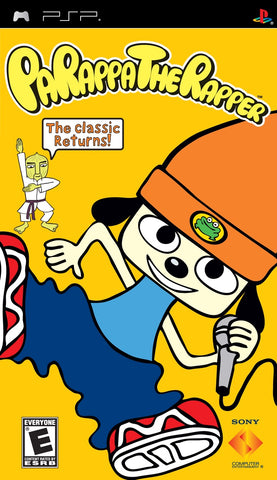 PSP Parappa The Rapper Game
