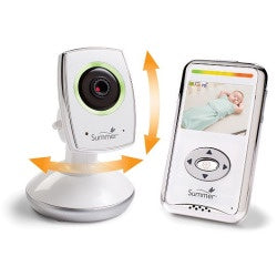 Summer Infant BabyZoom™ Wifi Video Monitor and Internet Viewing System