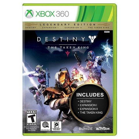 Xbox 360 Destiny The Taken King Game