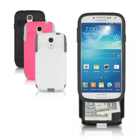 Otter Box Samsung Galaxy S4 Commuter Series Wallet Case Pink