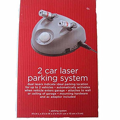 2 Car Laser Parking System For Up To Two Vehicles