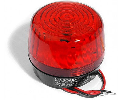 Enforcer Seco Larm SL-126Q/R Security Strobe Light Red