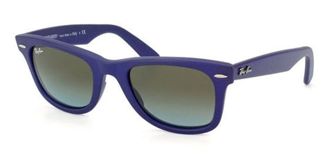 Ray-Ban Men RB2140 887/96 Wayfarer Matte Blue Sunglass-GL