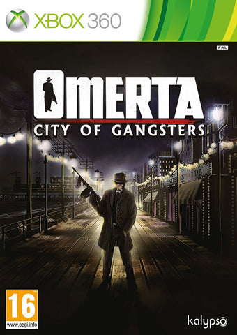 Xbox 360 Omerta - City Of Gangsters Game