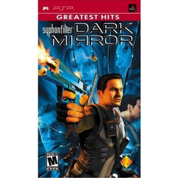 PSP Syphon Filter Dark Mirror - Greatest Hits Game