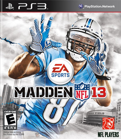 PS3 NFL Madden 13 Game
