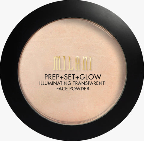 Milani 02 Prep+Set+Glow Illuminating Transparent Face Powder