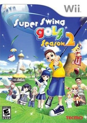 Wii Super Swing Golf Season 2 Game