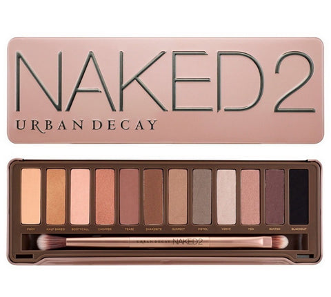Urban Decay Naked2 Eyeshadow Palette 12 Shades-GL/BB
