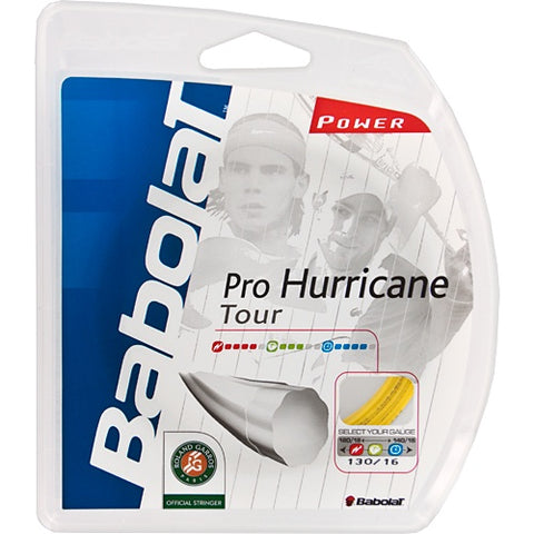 Babolar Pro Hurricane Tour Tennis String 12m/40'