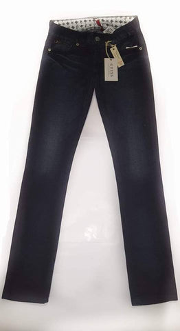 Guess-Women Stretch/Extensible Skinny Jeans-Sugarcane Wash - SHF