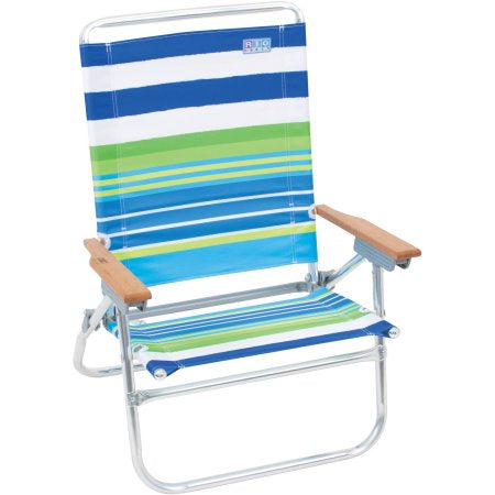 Rio Easy In-Easy Out 4-Position Beach Chair