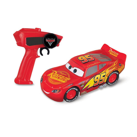 Disney Pixar Cars Lightning McQueen Racing Series With Radio Control, Age 4+