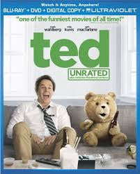 Ted Unrated Blu-Ray Disc