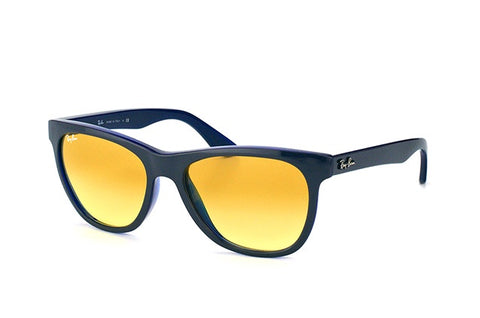 Ray-Ban Men RB4184 6115/X4  Dark Grey Blue / Yellow Photocromatic Lens Sunglass-GL